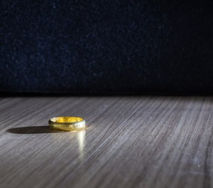 Staff at the Oklahoma County Jail found the lost ring in a hallway. Inmates are allowed to keep rings that are stuck, said the jail administrator.