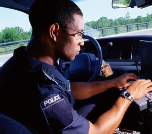 Voice recognition technology can reduce the amount of time an officer spends doing paperwork in the vehicle.