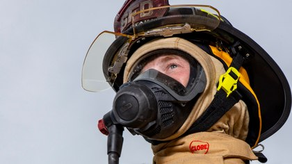 How to launder firefighting hoods