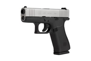 The G43x's muzzle is tapered like the Gen 5s and there are forward slide serrations also. (Photo/Glock)