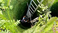 Fla. FF rescues goat from 30-foot sinkhole