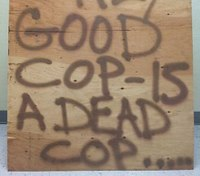 Pa. police call out 'good cop is dead cop' sign writer