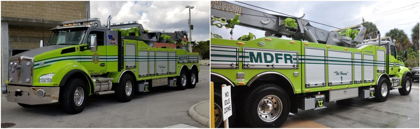 Operating the massive apparatus is an art form, explained Lt. Jairo Rodriguez.
