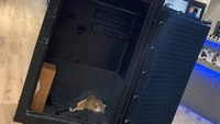 Orlando firefighters extricate teen from locked gun safe
