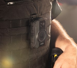 When it comes to selecting a body-worn camera system, consider your facility's specific needs and be sure to select a camera with sufficient battery life to cover a full shift, such as those from Axon, which last 12 hours per charge. (image/Axon)