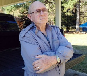 Former sheriff's deputy Quinnie Donald poses at his home in Needham, Ala. Donald, 78, was on duty when he shot and killed a man in 1964 outside a house known for selling illegal alcohol. (AP Image)