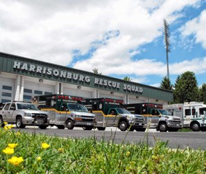 Harrisonburg Rescue Squad (HRS) in Harrisonburg, Va, (Image Lindsey Stein)