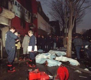 On March 25, 1990, 87 people died and 28 were injured in an arson fire at the Happy Land social club in the Bronx.