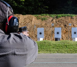 The retiree's last qualification as an active employee is good for up to a year, which allows them time to settle into their post-retirement lives without an interruption in their ability to carry a firearm. (Photo/Michael Harrigan)