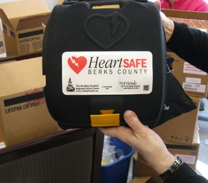 In 2010, The Friends of Reading Hospital threw its financial support behind HeartSAFE Berks, an effort to place an AED in every emergency vehicle in Berks County. (Photo/ Reading Hospital - Tower Health)