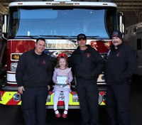 Photo of the Week: A 4-year-old's 'sweet' visit with Texas firefighters