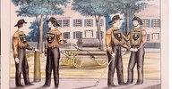 Did brawling firefighters kill urban volunteer depts?