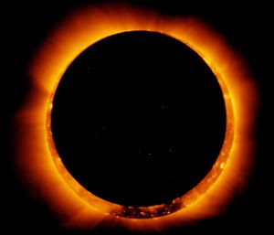 NASA and the American Astronomical Society recommend wearing solar eclipse glasses while viewing the event as severe damage to the retina and loss of vision can occur without proper protection. (Photo/Wikimedia Commons)