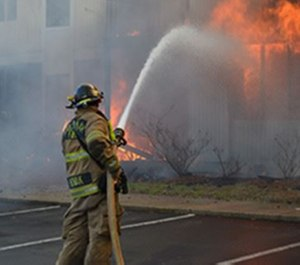 Consider fire conditions, location and defensive operations when choosing fire hose size.