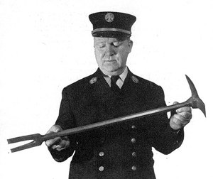 The Halligan tool has been an important part of a firefighter's toolkit ever since it was created.