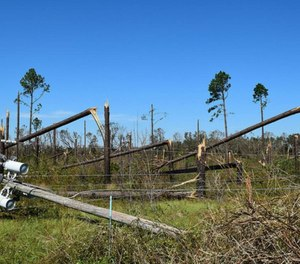 Local public safety officials responded to record-breaking volumes of 911 calls during Hurricane Michael.