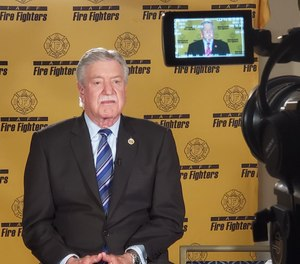 IAFF President Harold Schaitberger. (Photo/ International Association of Fire Fighters)