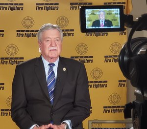 IAFF President Harold Schaitberger.