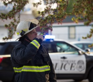 With radio communication, we need to be disciplined enough to practice perfect on every drill, every call and every time we push the push-to-talk button on a radio. (Photo/Spokane Fire Department Media Services)