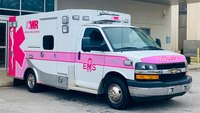 Photo of the Week: Pink ambulance hits the streets for breast cancer awareness