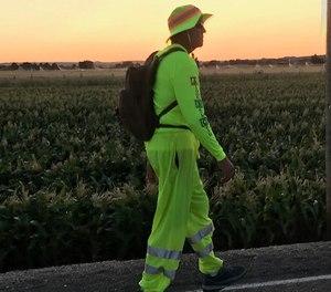 Paramedic Bart Buckendorf's walking tour will begin on Sept. 11 and run through Oct. 26.
