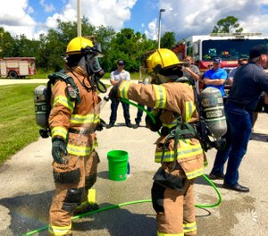 "FFSHC is being recognized for its dedication to firefighter health and safety by ""providing education, training and sharing of best practices to minimize risks and exposure to Florida firefighters""—all for free. (Photo courtesy of Christopher Bator, Samuel Eaton)"