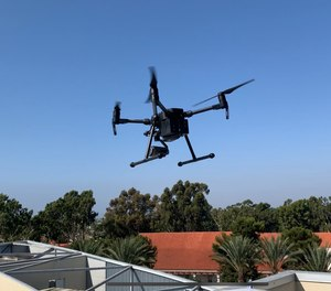 Drones are deployed from rooftops as part of Chula Vista Police Department's Drone as First Responder program.