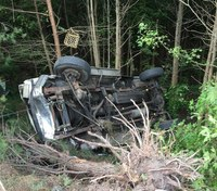 Md. medic unit involved in crash while transporting patient