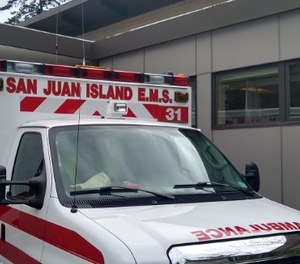 Members of the San Juan County Public Hospital District #1 and San Juan Island Fire District #3 were discussing the merging of San Juan EMS with the fire district at a joint meeting when a fire district commissioner reportedly made a derogatory comment.