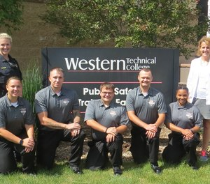 Pictured are the five recruits of the Public Safety Training Center of Western College's 2018 Summer Academy.