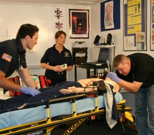 EMS no longer merely brings patients to healthcare. EMS is healthcare. (Photo/Central Ohio EMS)