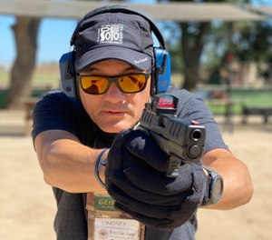 """Lindsey took the WX Ovation Sunglasses out to the range and tried out the XD-M Elite 3.8"""" OSP 9mm with the new HEX Dragonfly optic. The Captivate coatings actually enhanced the ability to see the RDS. They turned out to be excellent shooting glasses."""