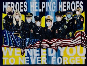 Paramedic Kate Bergen has started on a second collection honoring the women who served on the front lines during the Sept. 11 terrorist attack.