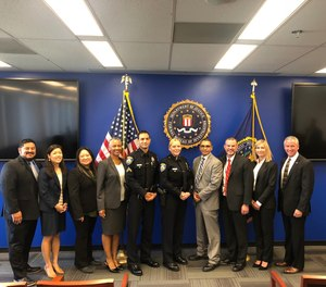 Anti-Virtual Kidnapping Task Force Members, including Beverly Hills PD, received a commendation from the FBI for their groundbreaking arrest.
