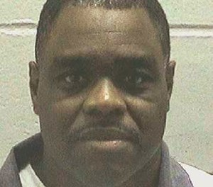 The Georgia Department of Correction shows Scotty Garnell Morrow, who is set to die Thursday, May 2, 2019.  (Georgia Department of Corrections via AP)