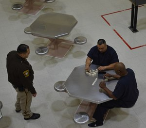 We can ever overemphasize the dangers of correctional officers becoming friendly with inmates. (Photo/CorrectionsOne)