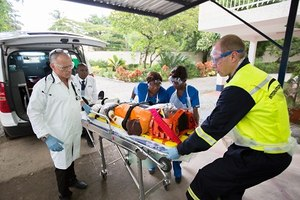There are several paths one could take to become a paramedic abroad.