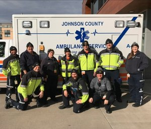 Johnson County Ambulance Service is trying to adapt to an ever-increasing call volume in Iowa's second-fastest growing county. (Photo/Johnson County Ambulance Service)