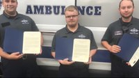 Pa. borough recognizes first responders who saved woman's life