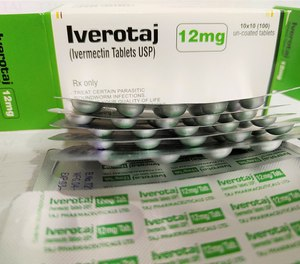 The drug's manufacturer said in February that it had found no evidence that ivermectin is an effective treatment for patients with COVID-19.
