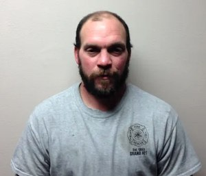 Thomas Launderville is charged with operating while intoxicated, second offense. (Photo/Jefferson Police Department)
