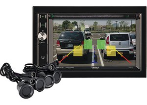 The new Voyager CVRPS14 Rear Sensor System provides an additional layer of safety, eliminating surprises by enhancing backup cameras with sensors that alert the driver of objects behind the vehicle. (Photo/ASA Electronics)