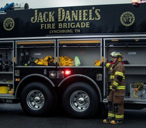 The Jack Daniel's Distillery, which was established in 1866 in Lynchburg, Tennessee, is the only distillery in the world that has its own fire department. (Photo/Hollis Bennett)