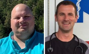James McLaughlin, left, is director of the community paramedicine program at Ute Pass Regional Health Service District. Dr. Jeremy DeWall, right, is the agency's EMS medical director.