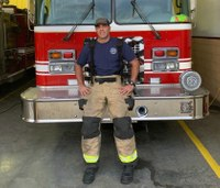 'I am your local volunteer firefighter'