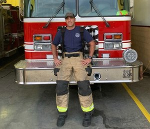 James Pribyl, a volunteer firefighter with Turkey Creek Fire Rescue in Sneads Ferry, North Carolina, shares a day in the life of a volunteer firefighter.