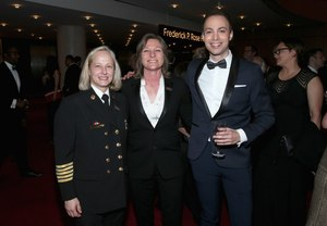 Left to right: Chief Jan Rader, Netflix Vice President of Original Series Cindy Holland, TIME Magazine Editorial Director Dan Macsai. (Photo/Courtesy of Jan Rader)