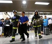 Man sets self on fire on Japanese bullet train, 2 dead