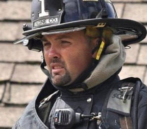 Jason Doyle, 38, has been a Sandy Bay Fire Company lieutenant since November 2019 and a Rockport volunteer firefighter since 2002.