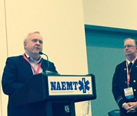 Jay Fitch receives NAEMT's lifetime achievement award